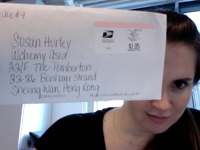 how long does it take a letter to arrive how does a letter take to get to hong kong from the 10312 | letter
