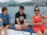 Company boat trip: SaiKung