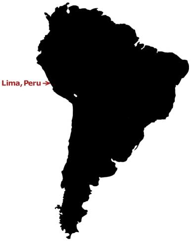 peru map
