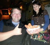 I went to Prague and bought a carrot.
