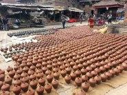 Clay pots!