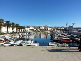 Boats in Split, Croatia