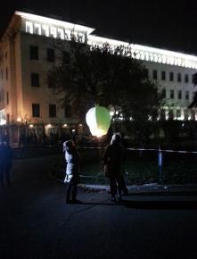 New Year's Eve in Sofia, Bulgaria.
