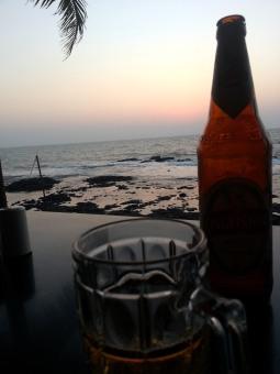 Refreshment in Goa, India.