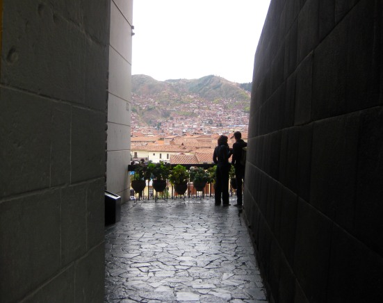 Temple of the Sun (Templo del Sol) at Koricancha.