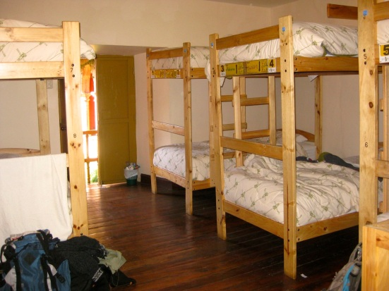 Ecopackers 8-bed female dorm room. Cusco, Peru.