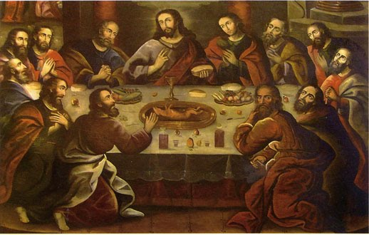 Marco Zapata's Last Supper