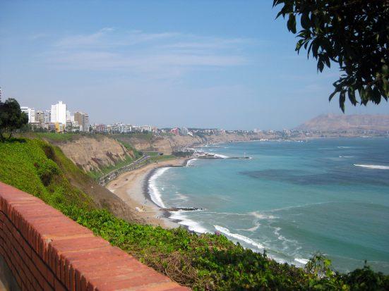 Miraflores, Lima coastline / Pacific Ocean