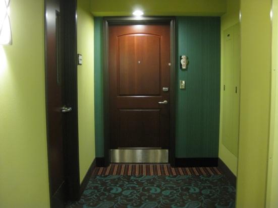 Maxwell Hotel, room 348